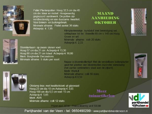 Tuin Stenen Aanbieding : Maand aanbiedingen